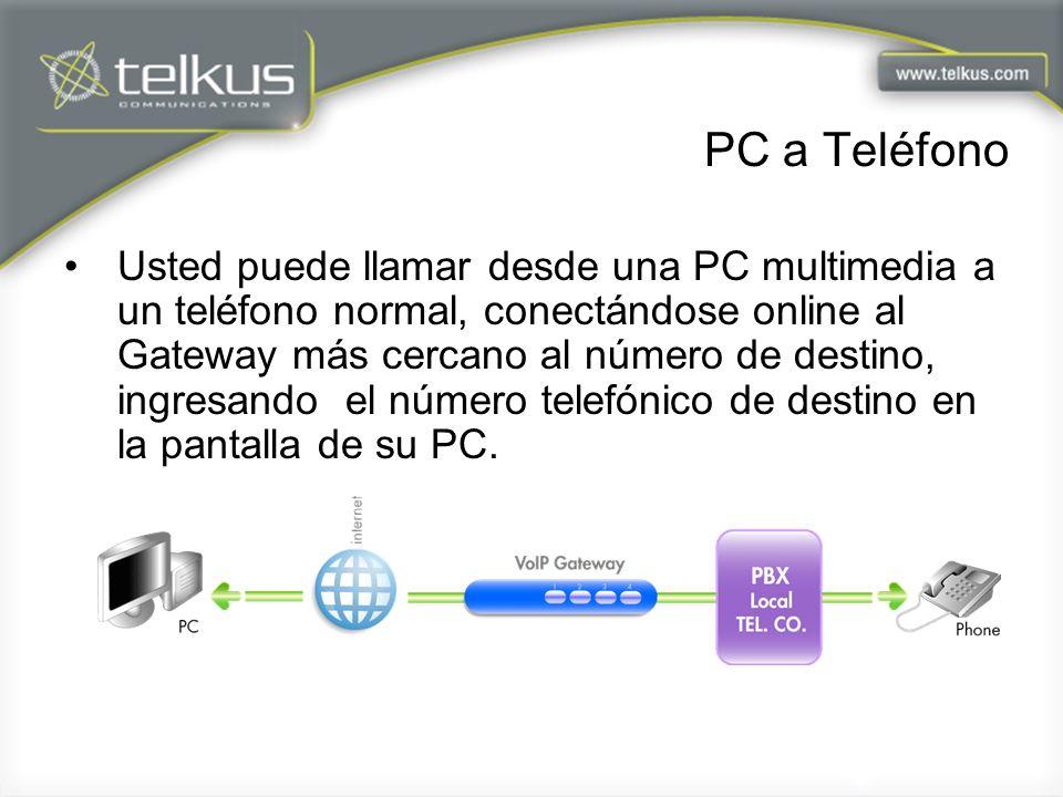PC a Teléfono