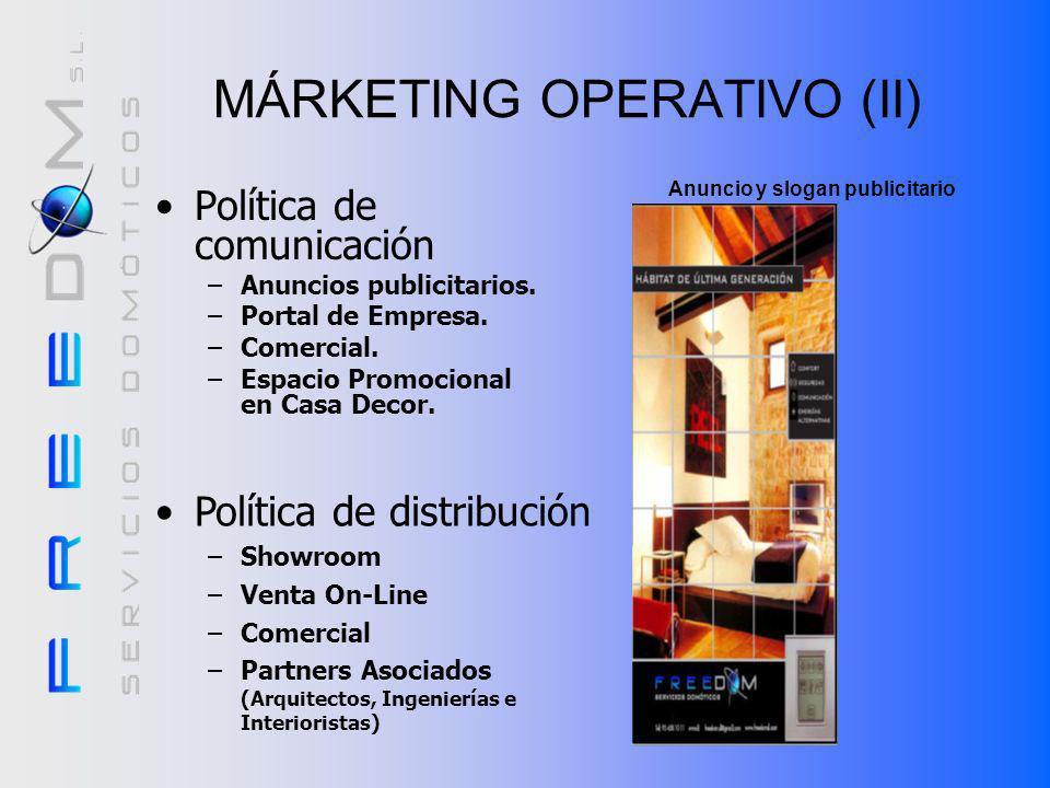 MÁRKETING OPERATIVO (II)