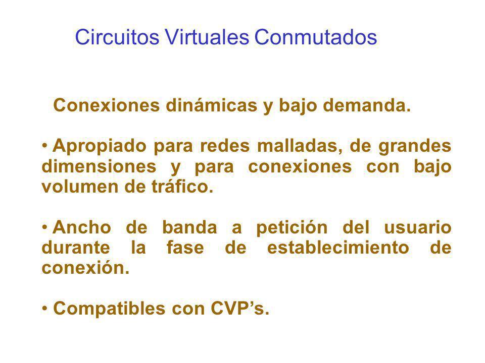 Circuitos Virtuales Conmutados