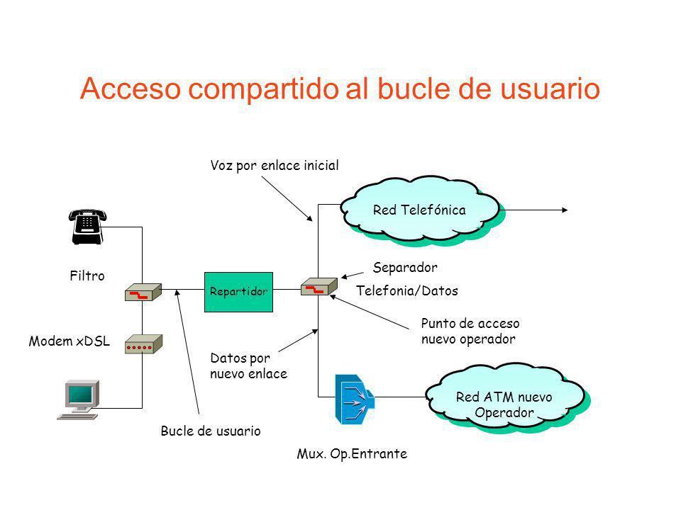 Acceso compartido al bucle de usuario