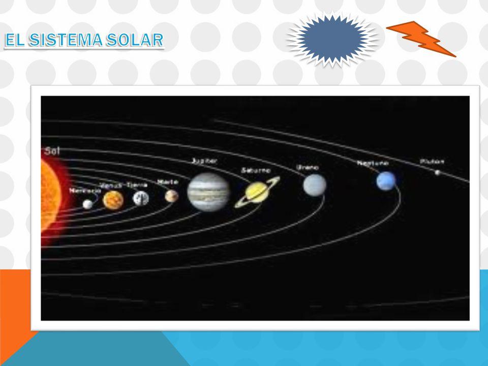 El Sistema Solar El Sistema Solar está formado por ocho planetas.