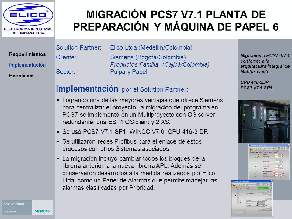 MIGRACIÓN PCS7 V7.1 PLANTA DE PREPARACIÓN Y MÁQUINA DE PAPEL 6
