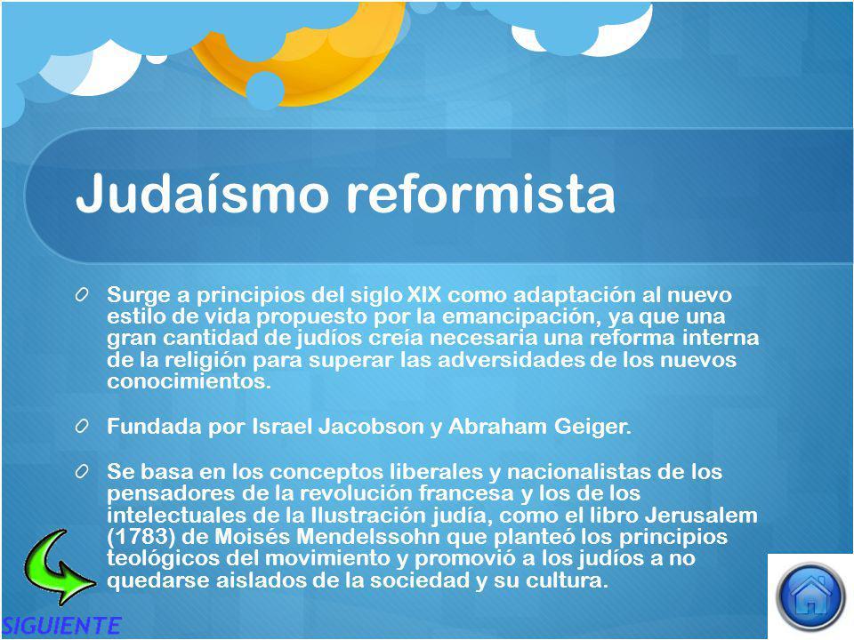 Judaísmo reformista