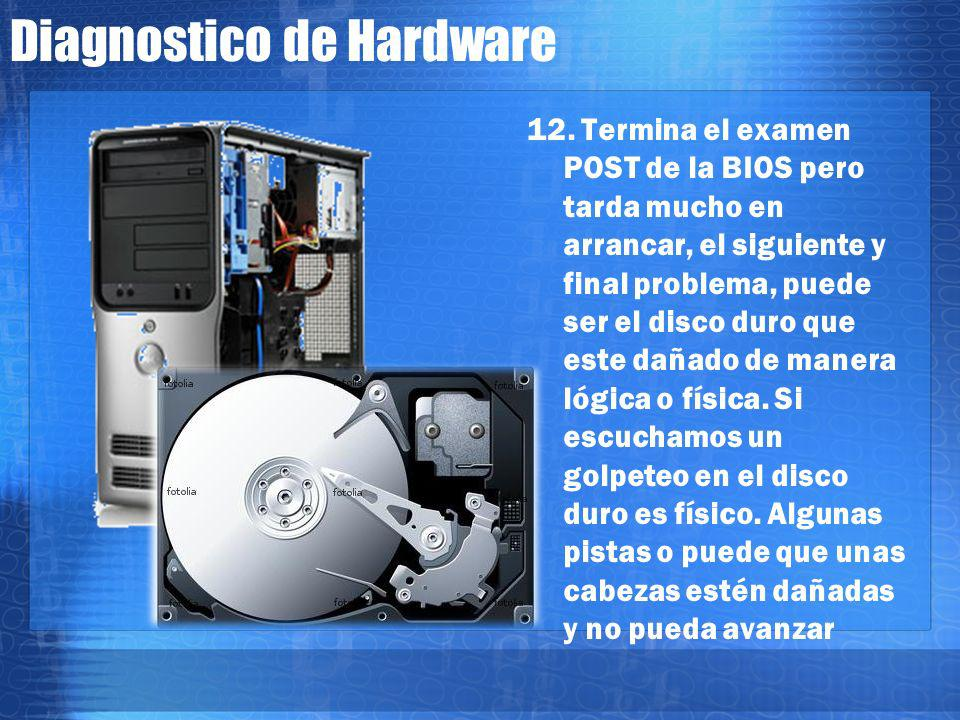 Diagnostico de Hardware