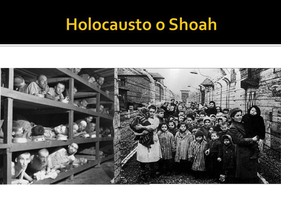 Holocausto o Shoah