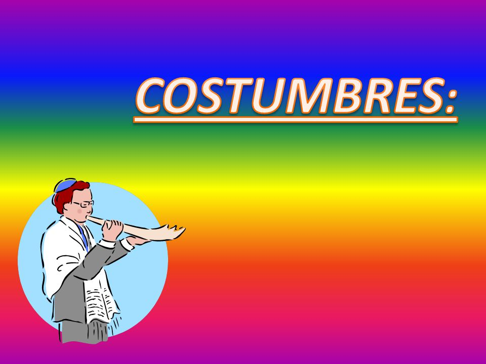 COSTUMBRES: