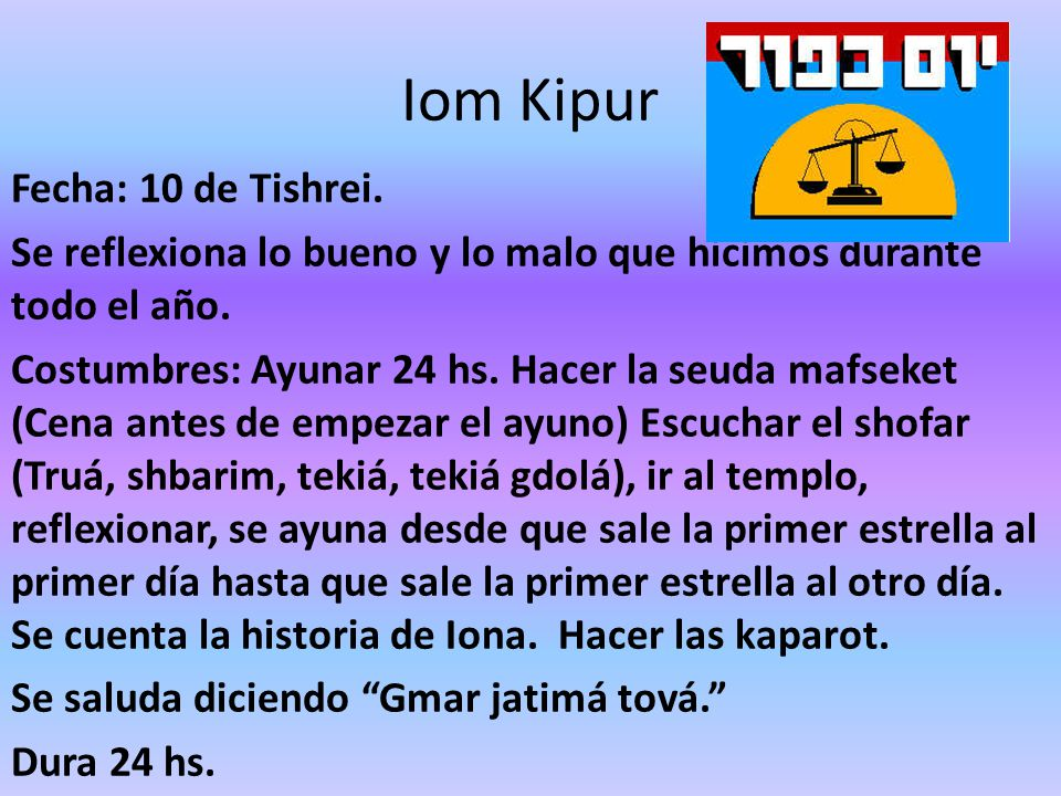 Iom Kipur