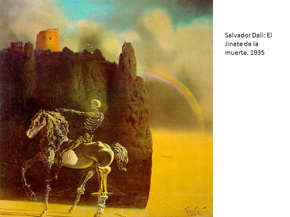 Salvador Dali: El Jinete de la muerte. 1935