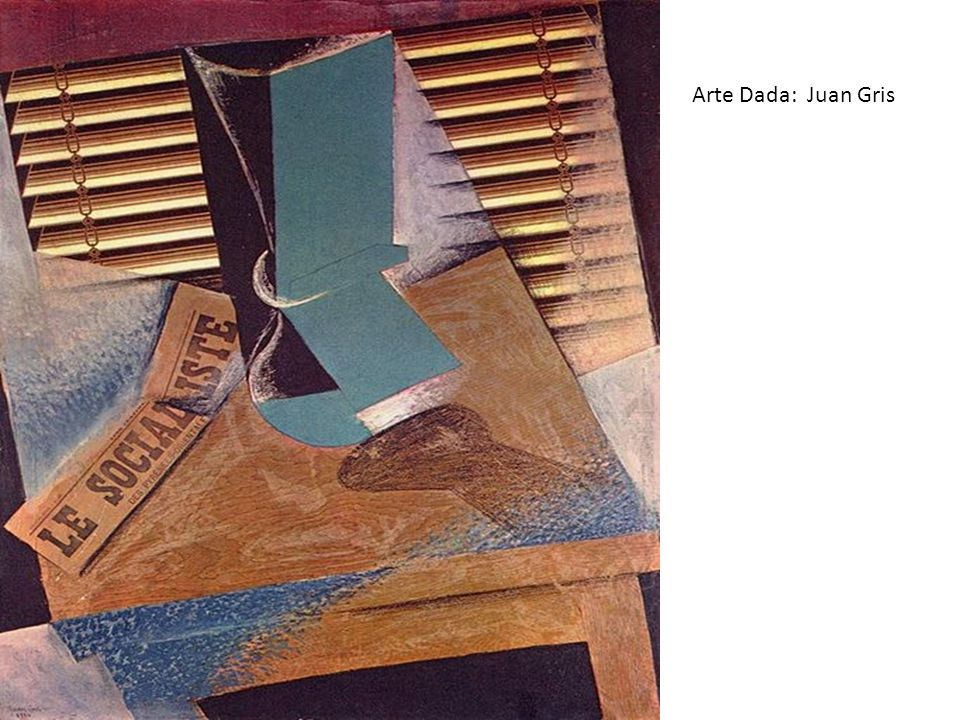 Arte Dada: Juan Gris