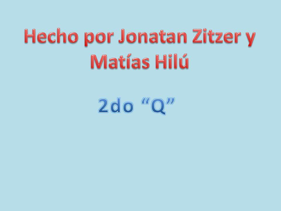 Hecho por Jonatan Zitzer y Matías Hilú