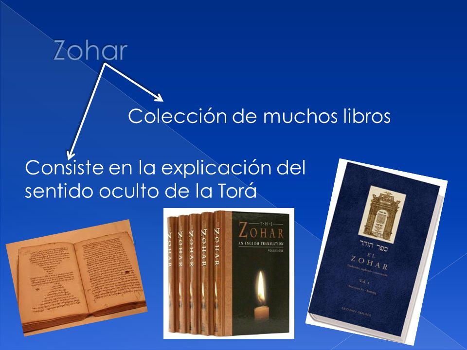 Zohar Colección de muchos libros