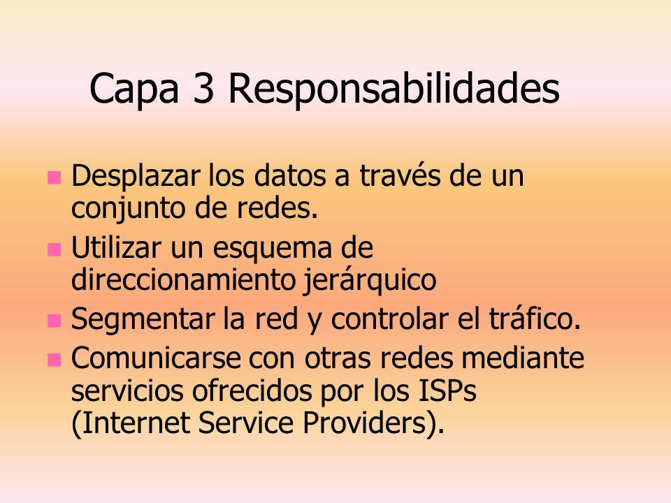 Capa 3 Responsabilidades