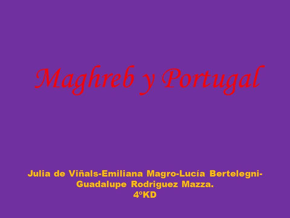 Maghreb y Portugal Julia de Viñals-Emiliana Magro-Lucía Bertelegni-Guadalupe Rodriguez Mazza. 4ºKD