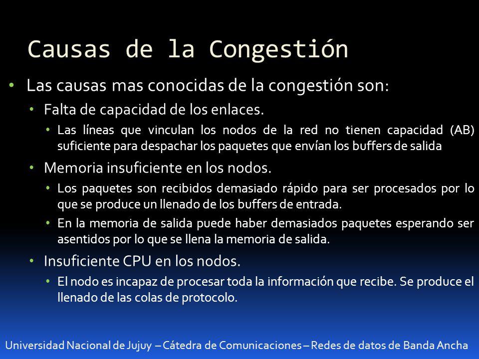 Causas de la Congestión