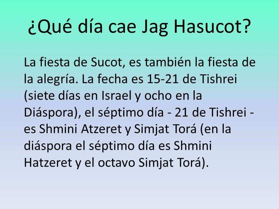 ¿Qué día cae Jag Hasucot