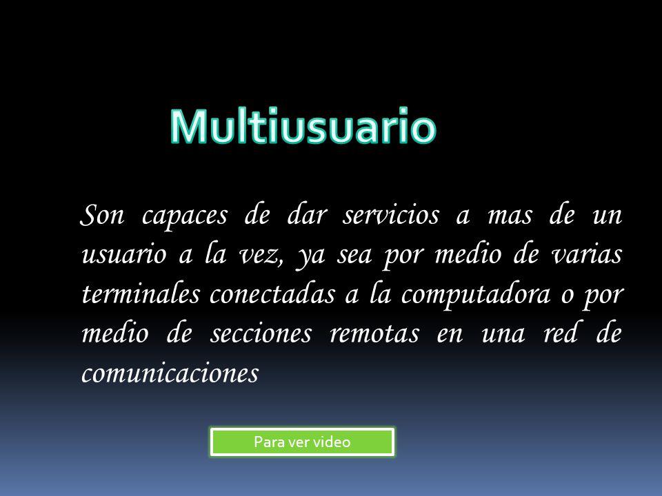 Multiusuario