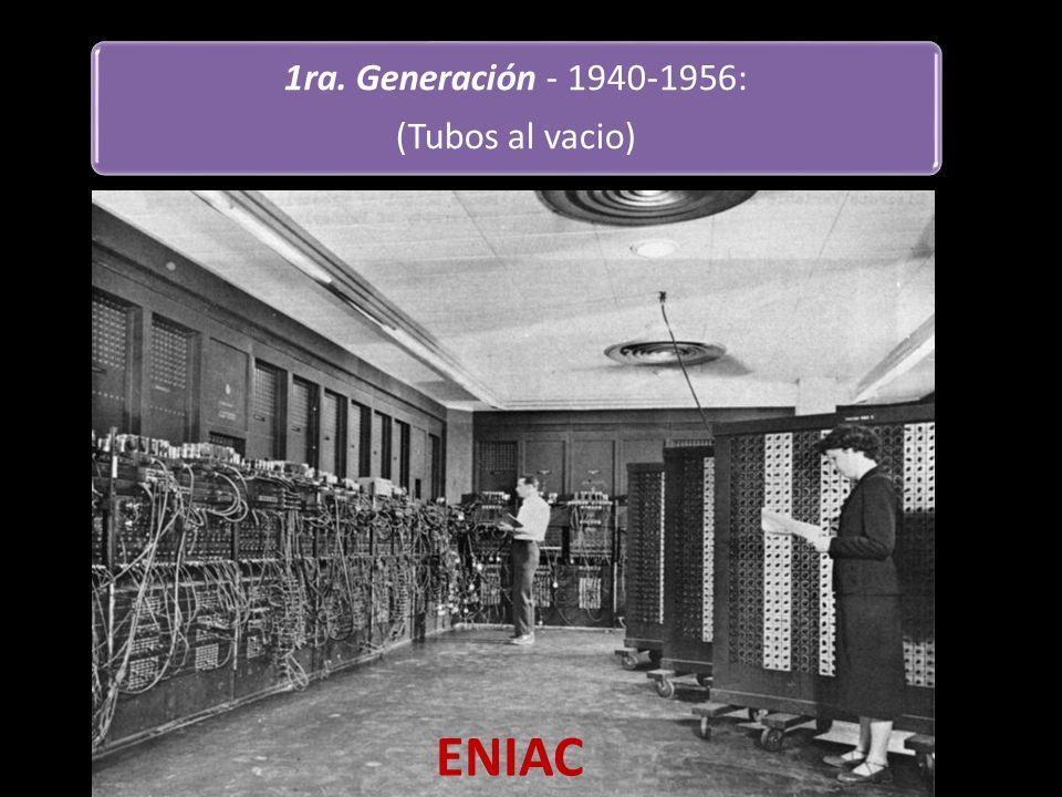 ENIAC ENIAC (integrador y computadora numérica electrónica).