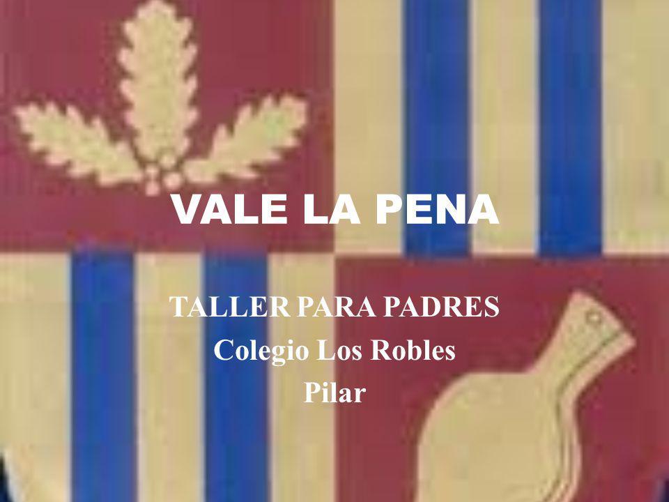 TALLER PARA PADRES Colegio Los Robles Pilar