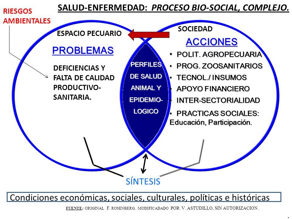 SALUD-ENFERMEDAD: PROCESO BIO-SOCIAL, COMPLEJO.