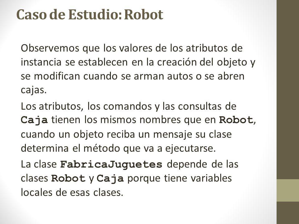 Caso de Estudio: Robot