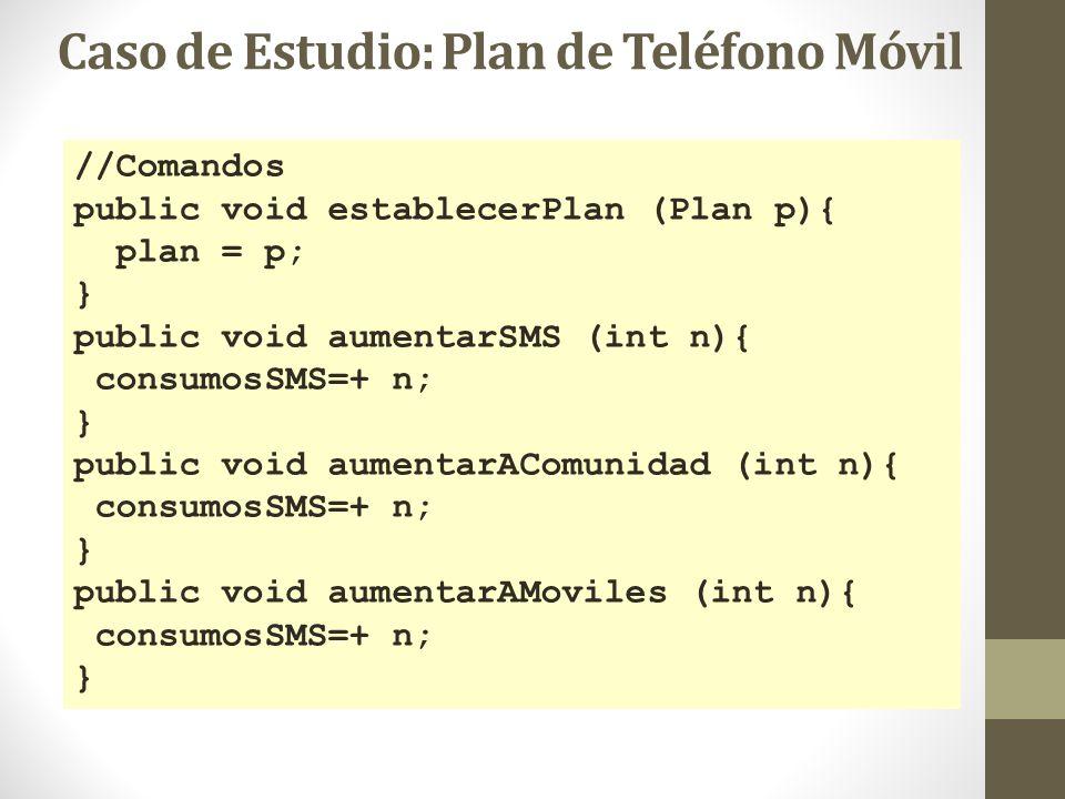 Caso de Estudio: Plan de Teléfono Móvil