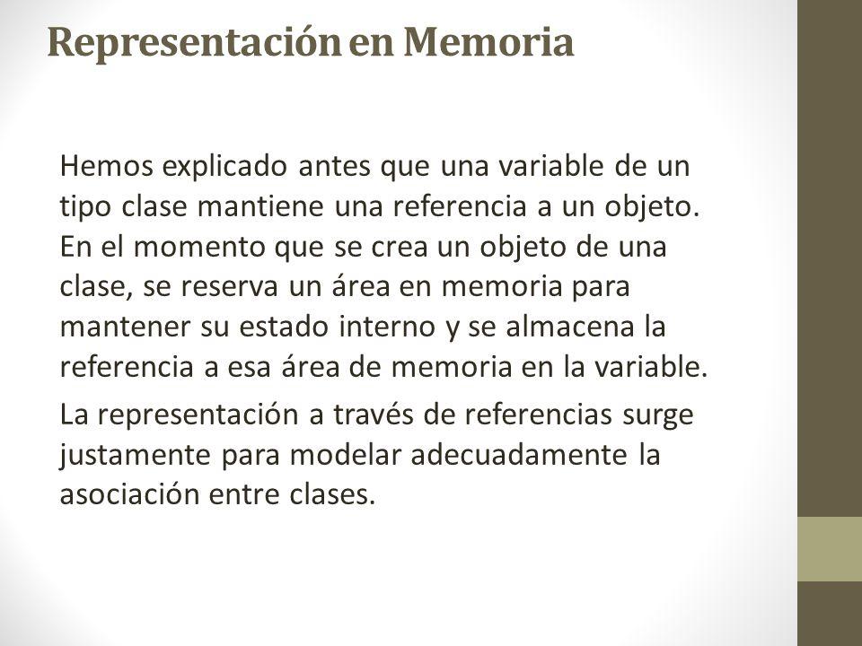 Representación en Memoria