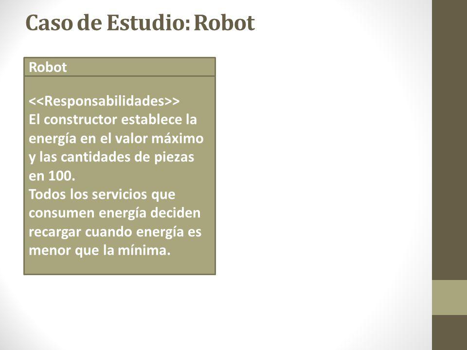 Caso de Estudio: Robot Robot <<Responsabilidades>>