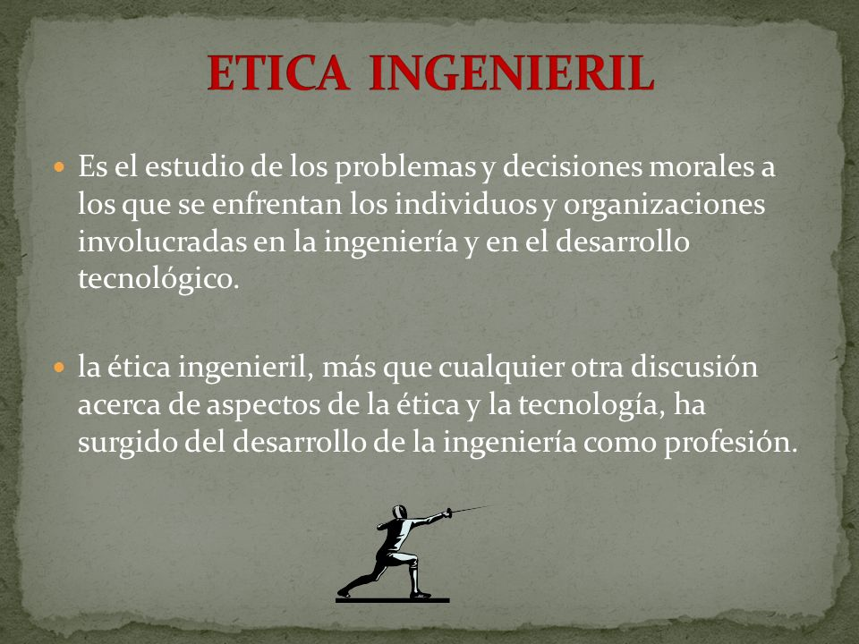 ETICA INGENIERIL