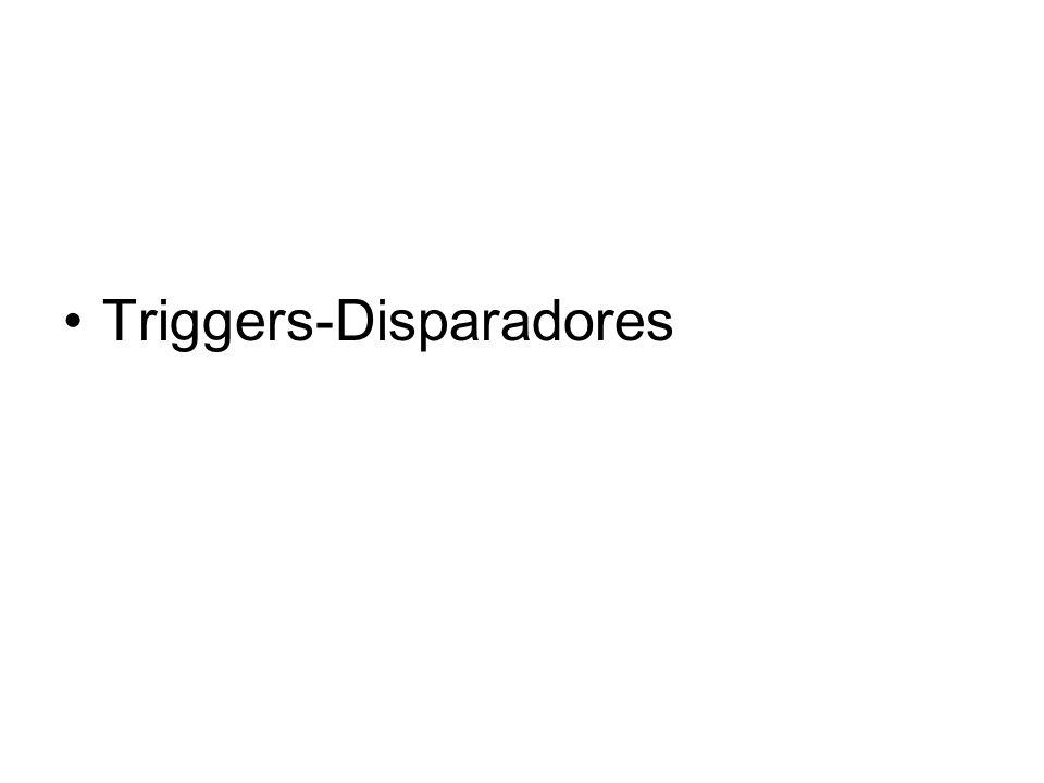 Triggers-Disparadores