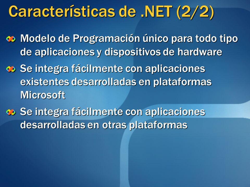 Características de .NET (2/2)