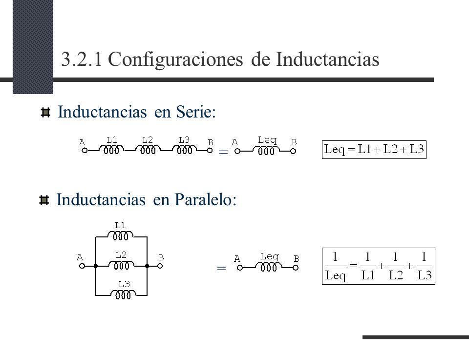 3.2.1 Configuraciones de Inductancias
