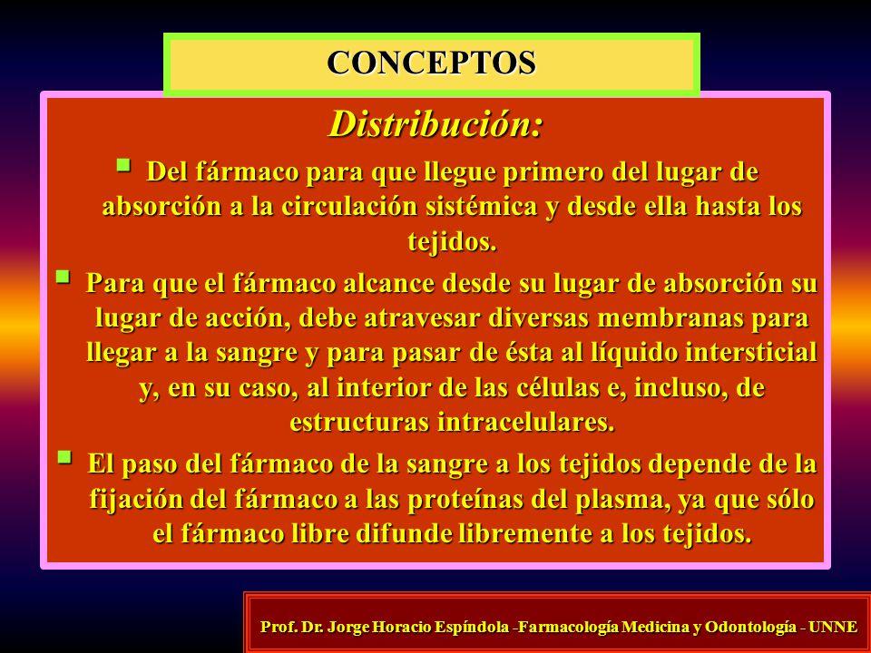 Distribución: CONCEPTOS