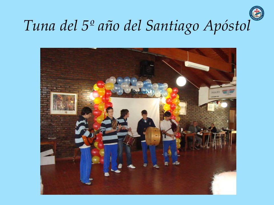 Tuna del 5º año del Santiago Apóstol