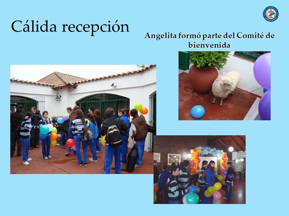 Angelita formó parte del Comité de