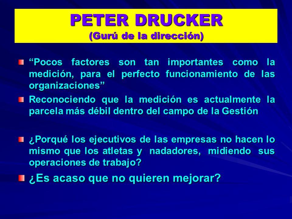 PETER DRUCKER (Gurú de la dirección)
