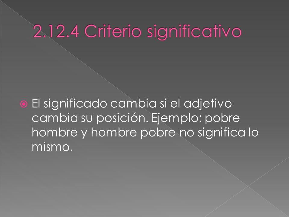 2.12.4 Criterio significativo