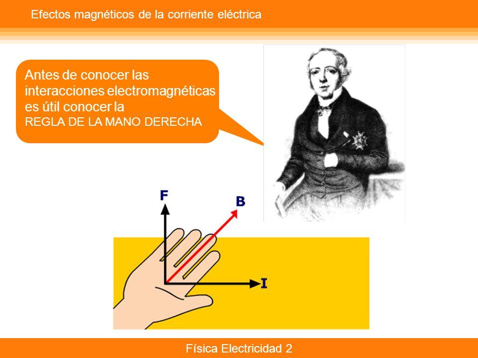 interacciones electromagnéticas es útil conocer la