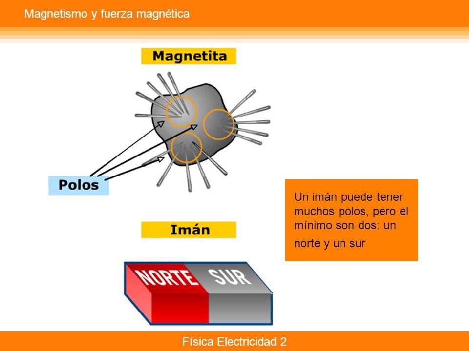 Magnetismo y fuerza magnética