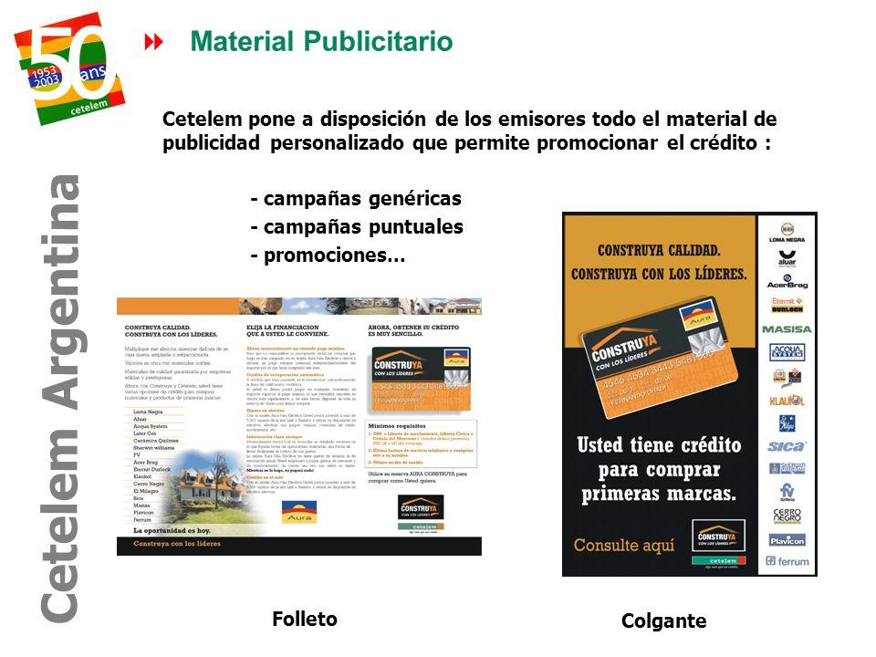 Cetelem Argentina Material Publicitario