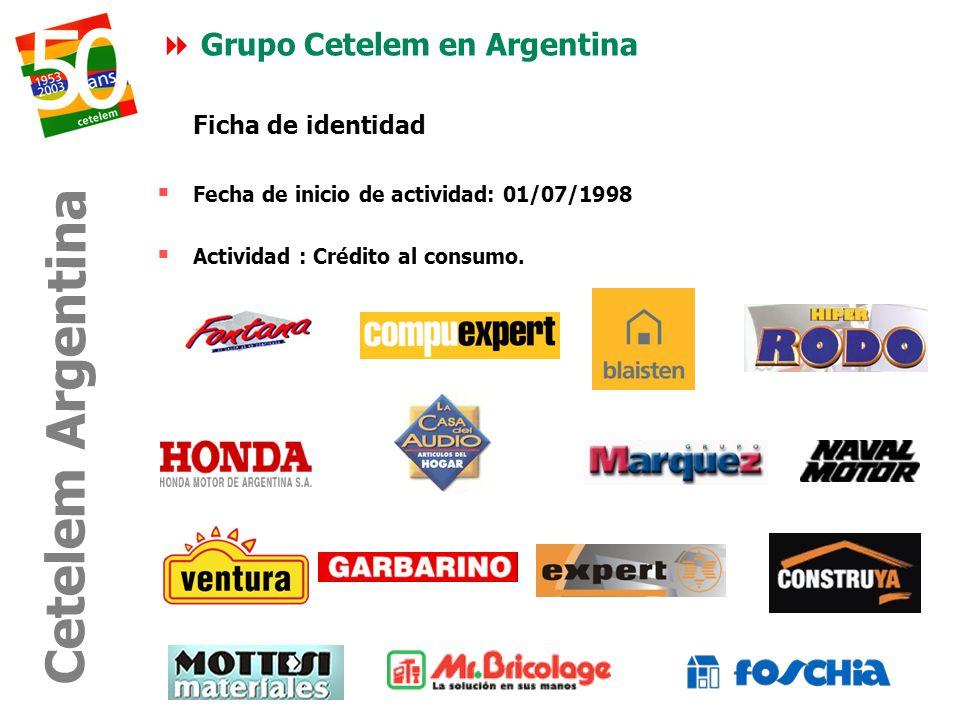 Cetelem Argentina Grupo Cetelem en Argentina Ficha de identidad