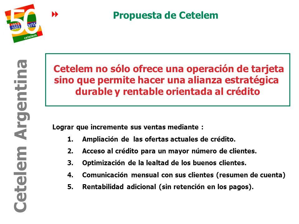Cetelem Argentina Propuesta de Cetelem