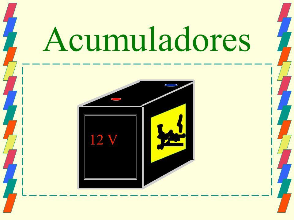 Acumuladores 12 V