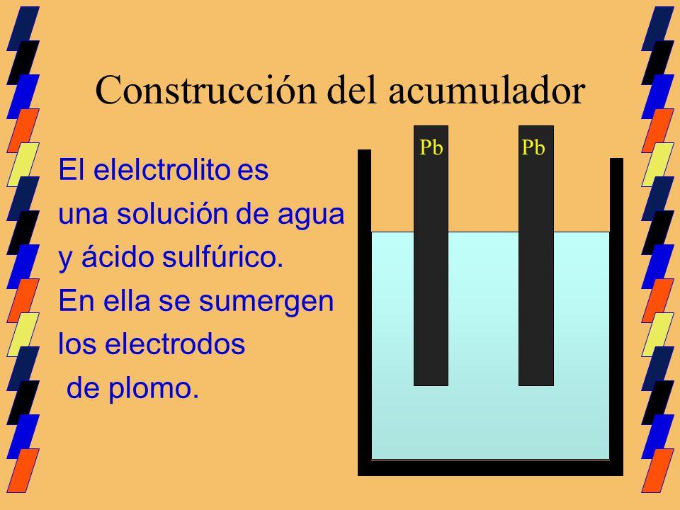 Construcción del acumulador