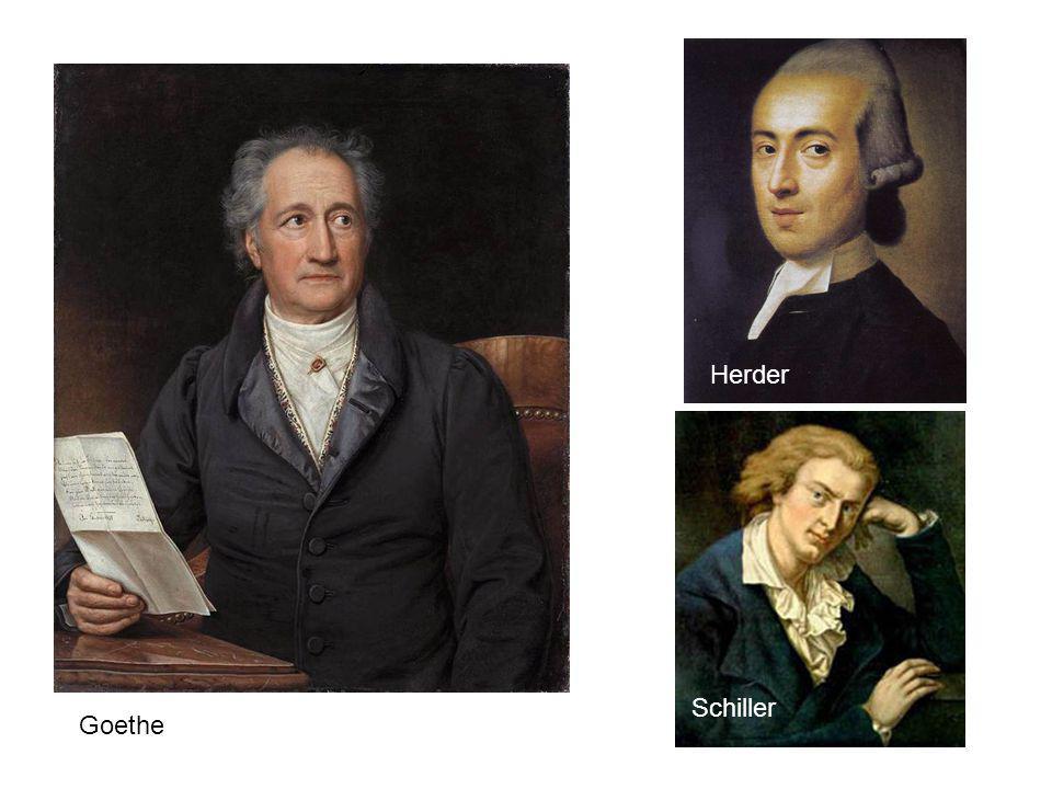 Herder Schiller Goethe