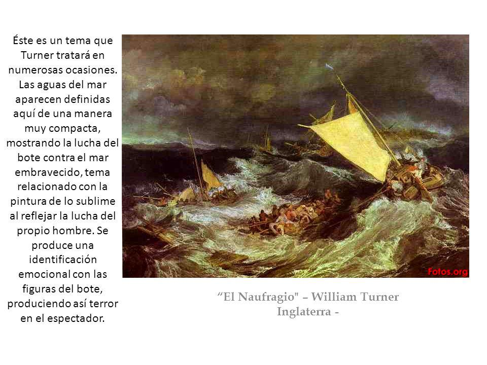 El Naufragio – William Turner