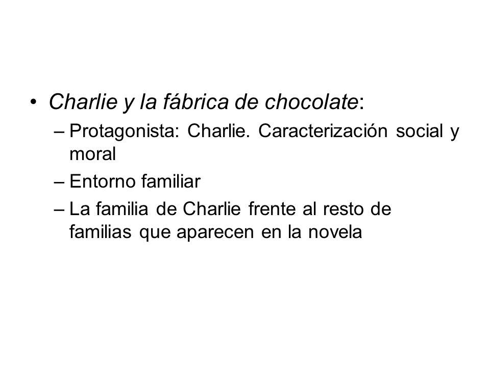 Charlie y la fábrica de chocolate:
