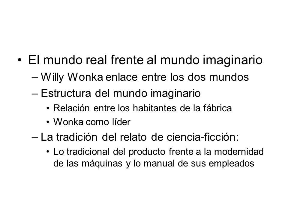El mundo real frente al mundo imaginario