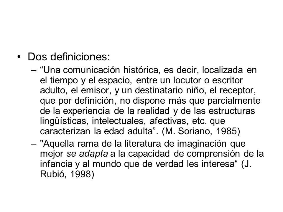 Dos definiciones: