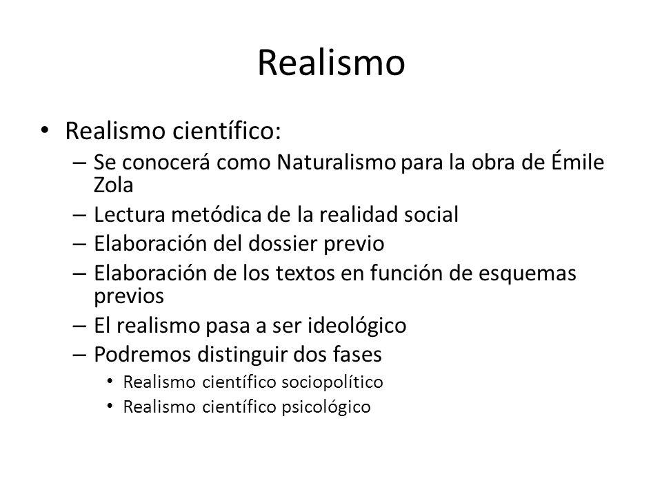 Realismo Realismo científico: