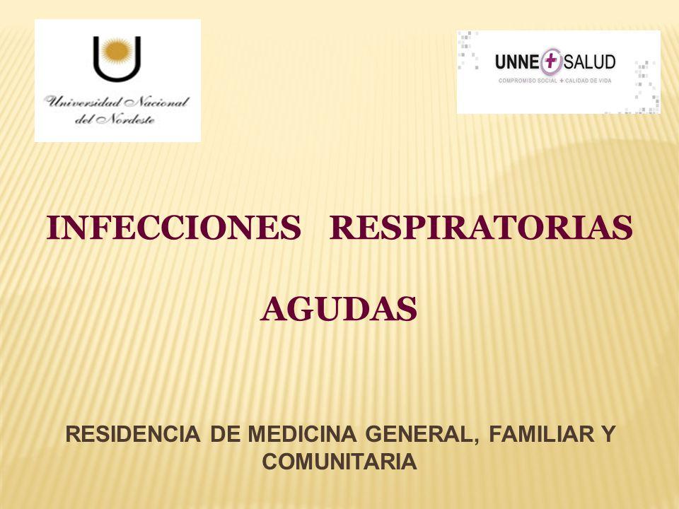 RESIDENCIA DE MEDICINA GENERAL, FAMILIAR Y COMUNITARIA